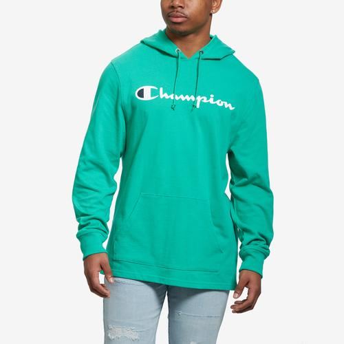 Front View of Champion Men's Middleweight Hoodie