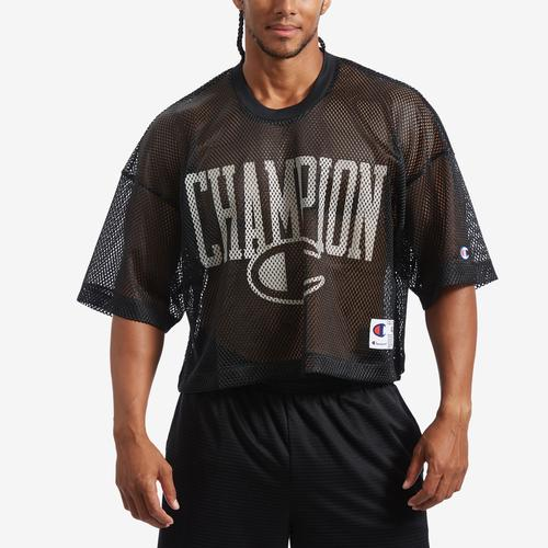 Front View of Champion Men's Mesh Football Jersey