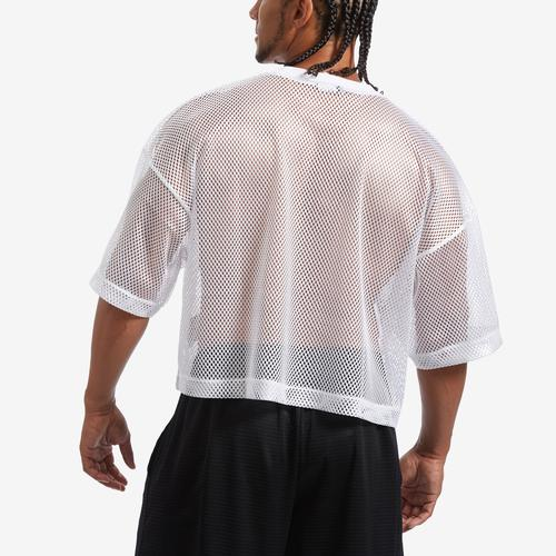 Back View of Champion Men's Mesh Football Jersey