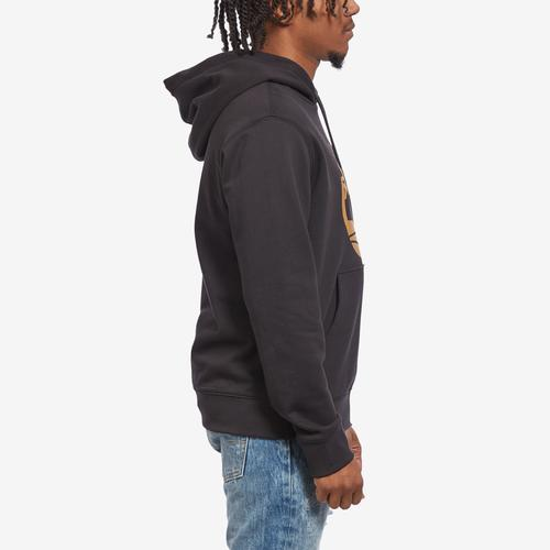 Right Side View of Timberland Men's Essential Tree Logo Hoodie