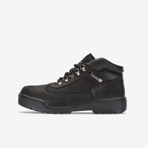 Left Side View of Timberland Men's Waterproof Field Boots Sneakers