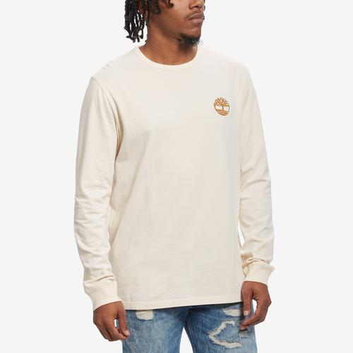 Front View of Timberland Men's Back Tree Logo T-Shirt