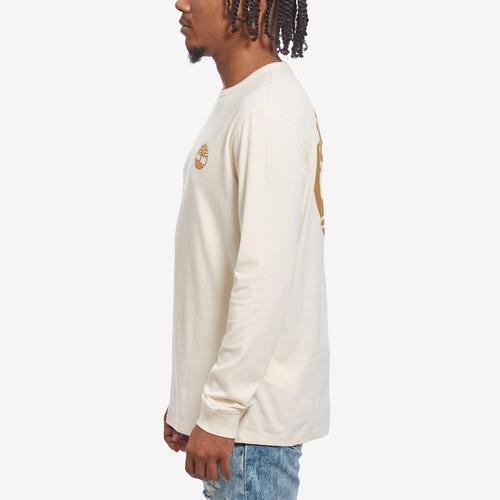 Left Side View of Timberland Men's Back Tree Logo T-Shirt