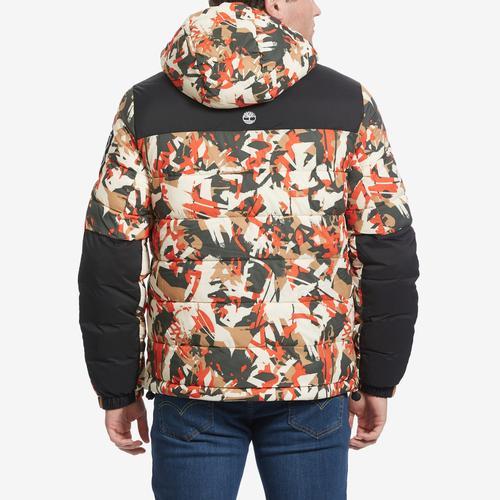 Timberland Camo Puffer Jacket