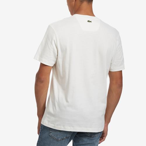 Lacoste Multicolored Logo Cotton T-shirt
