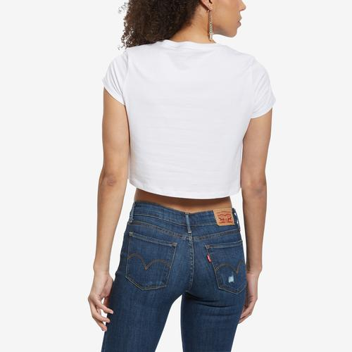 Tommy Hilfiger Women's Cropped Colorblock Logo Tee