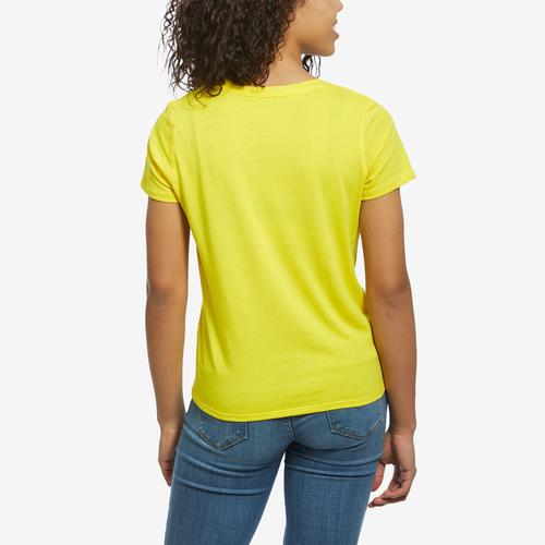 Back View of Tommy Hilfiger Women's Logo Knot Front Tee