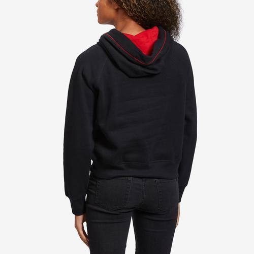 Tommy Hilfiger Women's Cropped Color Block Hoodie