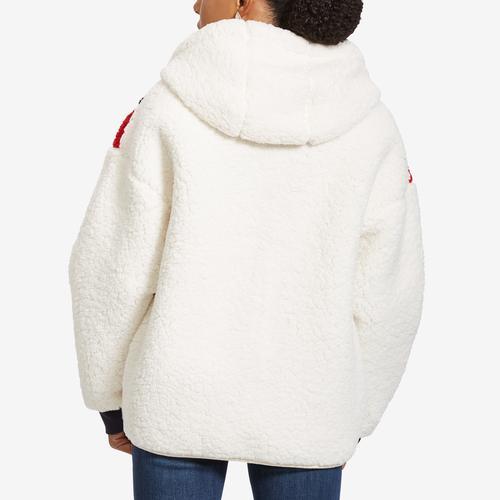 Tommy Hilfiger Sport Faux Sherpa Colorblock Jacket