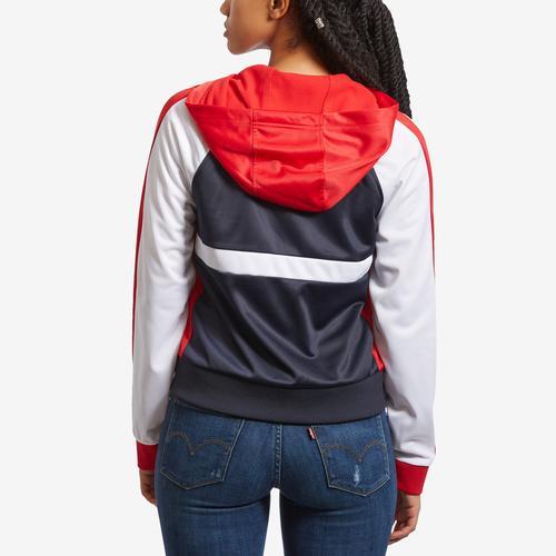 Tommy Hilfiger Women's Sport Colorblock Hooded Jacket