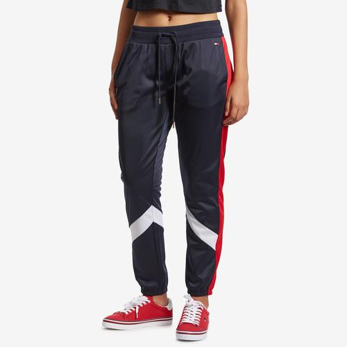 Front View of Tommy Hilfiger Women's Sport Track Joggers