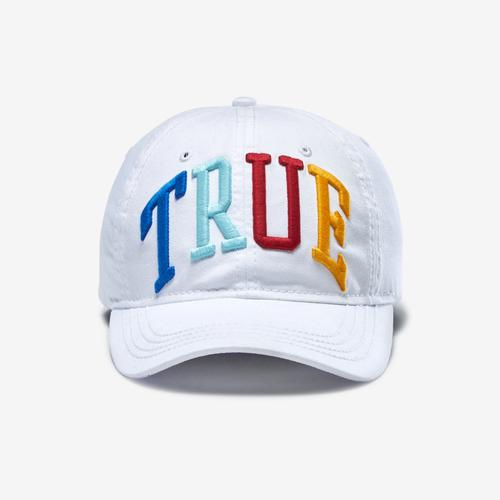 True Religion 3D Rainbow Logo Cap