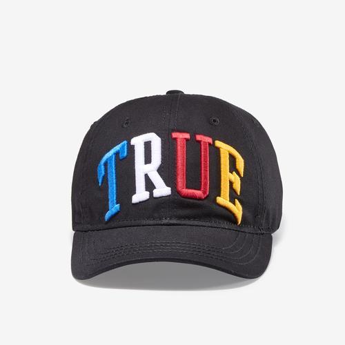 True Religion 3D Rainbow Logo Cap