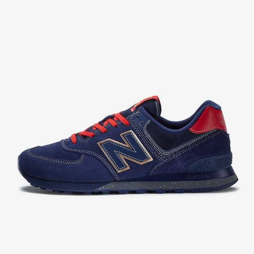 Left Side View of New Balance Men's 574 Inspire The Dream Sneakers