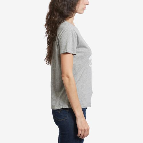 Left Side View of Freeze Women's Jaws Perfect Tee