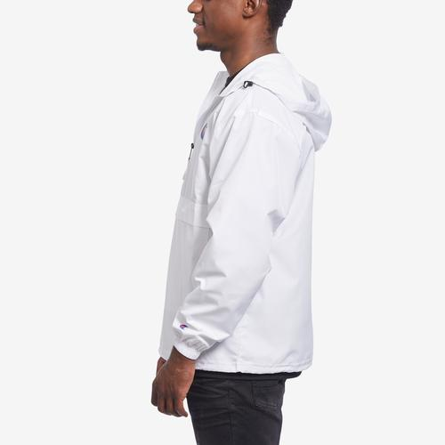 Right Side View of Champion Men's Packable Jacket, C Logo