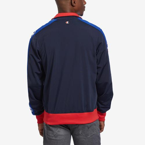 Champion Life Track Jacket, Chain Stitch Big C Logo