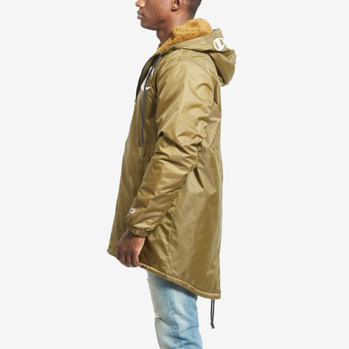 Left Side View of Champion Men's Life Sherpa-Lined Stadium Jacket
