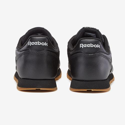 Back View of Reebok Boy's Preschool Classic Leather Sneakers