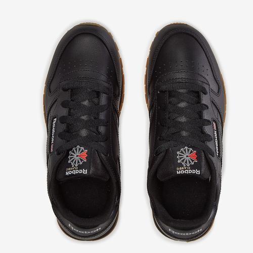 Bottom View of Reebok Boy's Preschool Classic Leather Sneakers