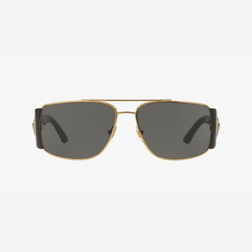 Versace Men's VE2163 Polarized Sunglasses
