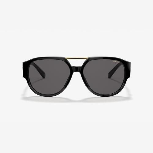 Versace Men's VE4371 Polarized Sunglasses