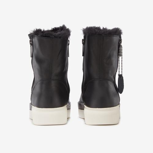 Back View of J/SLIDES Women's Victory Boot Sneakers