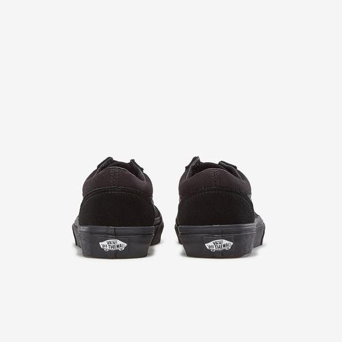Back View of Vans Boy's Preschool Old Skool Sneakers