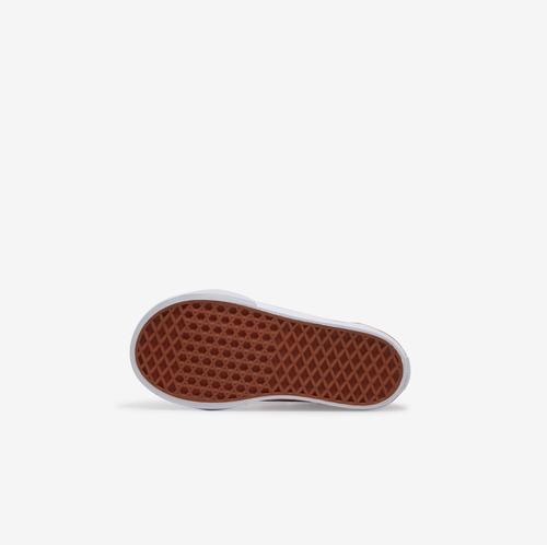 Top View of Vans Boy's Toddler Check Old Skool V Sneakers