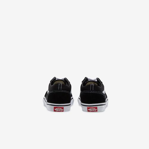 Back View of Vans Boy's Toddler Old Skool Sneakers