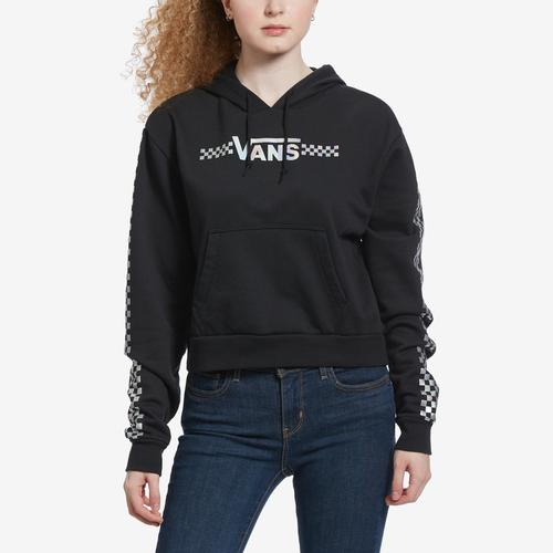 Front View of Vans Women's Shine It Crop Hoodie