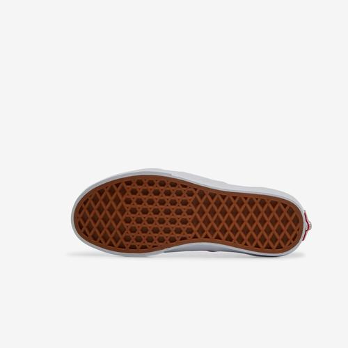 Top View of Vans Boy's Preschool Rainbow Classic Checker Slip-On Sneakers