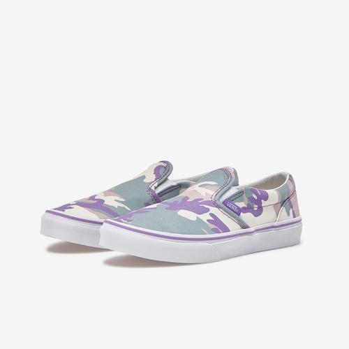 Vans Girl's Preschool Pastel Camo Classic Slip-On