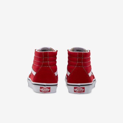 Back View of Vans Boy's Preschool Sk8-Hi Sneakers