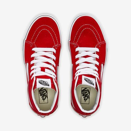 Bottom View of Vans Boy's Preschool Sk8-Hi Sneakers