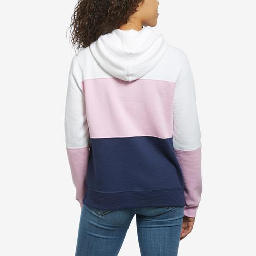Champion Women's Power Blend Color Block Hoodie