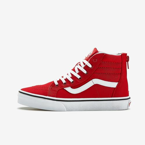 Left Side View of Vans Boy's Preschool Sk8-Hi Sneakers