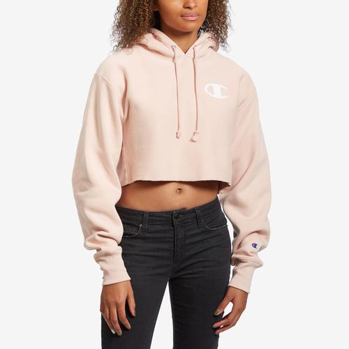 Front View of Champion Women's Life Reverse Weave Hoodie