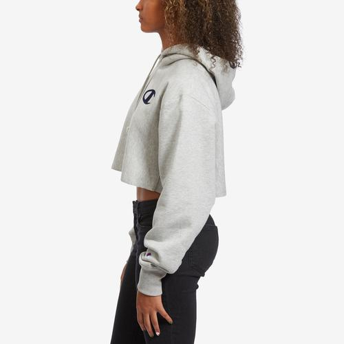 Left Side View of Champion Women's Life Reverse Weave Hoodie
