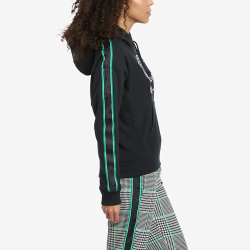Left Side View of Champion Women's Life Reverse Weave Pullover Hoodie With Houndstooth Logo