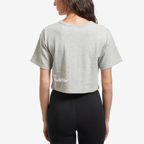 Champion Women's Life Crop Tee, Shadow C