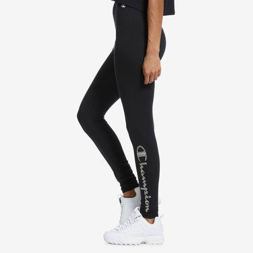Right Side View of Champion Women's Authentic Leggings
