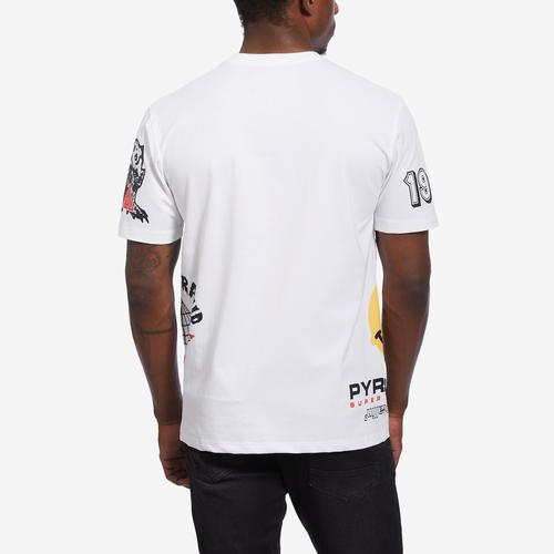 BLACK PYRAMID Men's World Famous Logo Tee