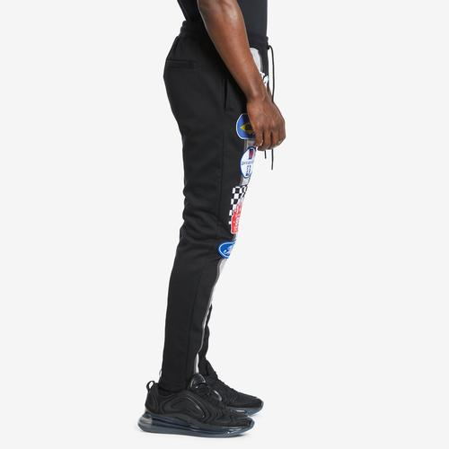 Left Side View of BLACK PYRAMID Men's Grease Monkey Pants