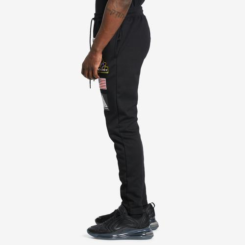 Right Side View of BLACK PYRAMID Men's Grease Monkey Pants