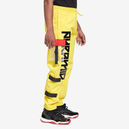 Left Side View of BLACK PYRAMID Men's Clear Pocket Strapped Pant