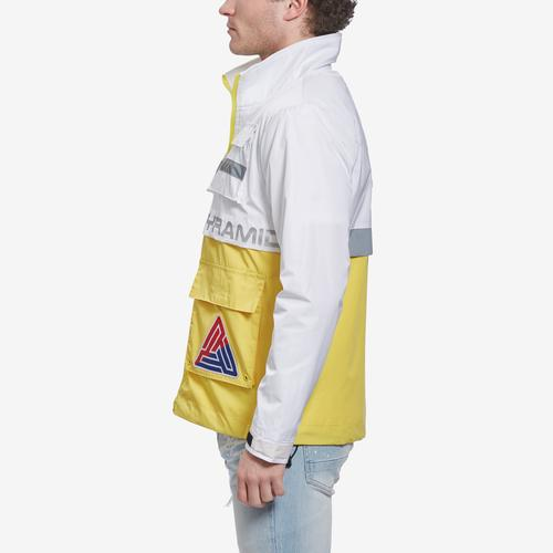 Right Side View of BLACK PYRAMID Men's BP-89 Sailing Track Jacket