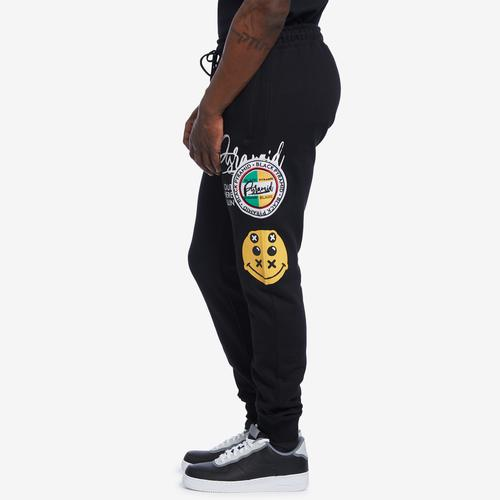 Right Side View of BLACK PYRAMID Men's World Famous Logo Pant