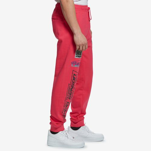 Left Side View of BLACK PYRAMID Men's Drawstring Joggers