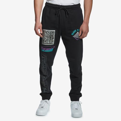 Front View of BLACK PYRAMID Men's Drawstring Joggers